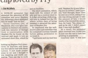 Herald - Stephen Fry/Igloo Article