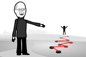 Steven Jobs Speech Animated