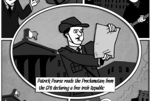 Irish History Cartoon
